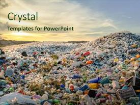 5000 waste powerpoint templates w waste themed backgrounds amazing theme having landfills plastic dumping site backdrop and a soft green toneelgroepblik Gallery