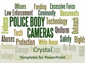 100 body camera police powerpoint templates w body camera police ppt theme having police body cameras word cloud background and a soft green colored foreground toneelgroepblik Image collections
