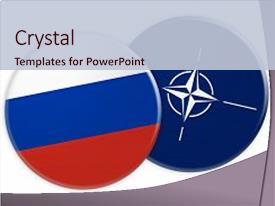 4000 nato powerpoint templates w nato themed backgrounds ppt layouts having politics news concept russia flag background and a lemonade colored foreground toneelgroepblik Gallery