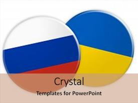 5000 russia ukraine powerpoint templates w russia ukraine themed amazing slide deck having politics news concept russia flag backdrop and a coral colored foreground toneelgroepblik Images