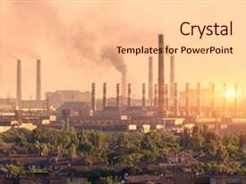4000 metallurgy powerpoint templates w metallurgy themed backgrounds ppt layouts featuring plant at sunset steel background and a lemonade colored foreground toneelgroepblik Gallery