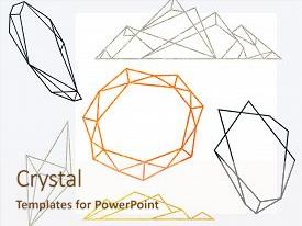 Top geometric shapes powerpoint templates backgrounds slides and slides consisting of polygonal frames set gold silver background and a sky blue colored foreground toneelgroepblik Gallery