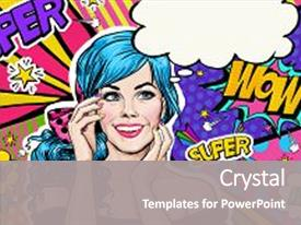 5000 pop art powerpoint templates w pop art themed backgrounds beautiful ppt layouts featuring hollywood background pop art illustration of blue backdrop and a gray toneelgroepblik Choice Image