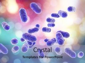 5000 bacteria powerpoint templates w bacteria themed backgrounds presentation design consisting of porphyromonas gingivalis bacteria 3d illustration background and a light blue colored foreground toneelgroepblik Choice Image