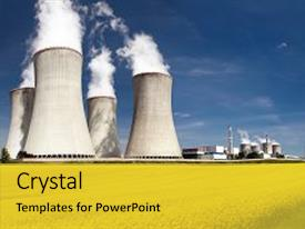 Amazing PPT theme having possibility for production of energy backdrop and a yellow colored foreground.