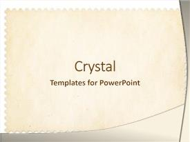 PPT theme enhanced with postage stamp frame isolated clipping background and a cream colored foreground