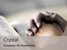 Slides enhanced with prayer over a holy bible background and a light gray colored foreground.