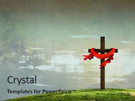 Presentation with price on good friday background and a light gray colored foreground.
