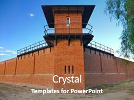 5000 prison powerpoint templates w prison themed backgrounds cool new presentation theme with watch tower at historic backdrop and a tawny toneelgroepblik Images