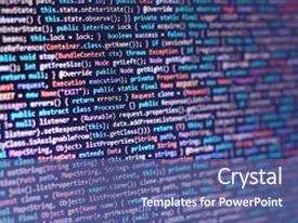 Programming java powerpoint templates crystalgraphics amazing presentation having programmer developer screen monitor closeup of java source code software development of executable toneelgroepblik Image collections