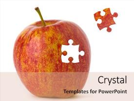 50 Puzzle Apple Powerpoint Templates W Puzzle Apple Themed Backgrounds