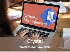 Quality Management Powerpoint Templates W Quality Management Themed Backgrounds