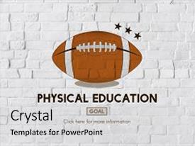 3000 quarterback powerpoint templates w quarterback themed backgrounds audience pleasing slides consisting of quarterback physical education rugby sport backdrop and a light gray colored toneelgroepblik