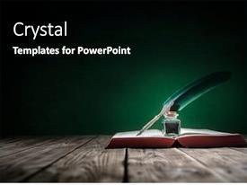 Journalist Powerpoint Templates W Journalist Themed Backgrounds