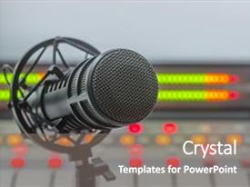 The Most Popular Radio PowerPoint Templates, Backgrounds