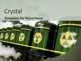 5000 waste powerpoint templates w waste themed backgrounds presentation theme with radioactive hazardous waste toxic waste background and a light gray colored foreground toneelgroepblik Gallery