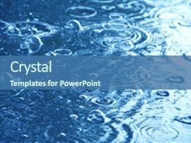 Water Powerpoint Template | 5000 Rain Water Powerpoint Templates W Rain Water Themed Backgrounds