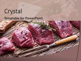 5000 beef powerpoint templates w beef themed backgrounds audience pleasing slides consisting of raw beef meat raw beef backdrop and a coral colored foreground toneelgroepblik Gallery