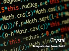 Programming java powerpoint templates crystalgraphics colorful presentation theme enhanced with real java script code developing backdrop and a dark gray colored toneelgroepblik Image collections