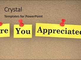 5000 appreciation powerpoint templates w appreciation themed amazing ppt layouts having appreciation recognition are you appreciated backdrop and a coral colored toneelgroepblik Images