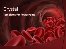 Top blood cell powerpoint templates backgrounds slides and ppt themes amazing theme having red blood cells medical concept backdrop and a wine colored foreground toneelgroepblik Images