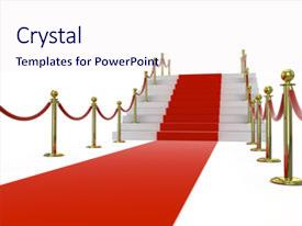 1000 star red carpet powerpoint templates w star red carpet themed