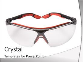 Top Safety Glasses Powerpoint Templates Backgrounds Slides And Ppt