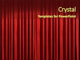 top theater curtains powerpoint templates backgrounds slides and