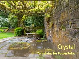 5000 renaissance art powerpoint templates w renaissance art themed amazing slides having renaissance lion head water fountain on a stone block wall with stone steps toneelgroepblik Images