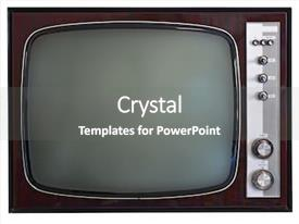 Retro Tv Powerpoint Templates W Retro Tv Themed Backgrounds