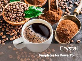 5000 coffee powerpoint templates w coffee themed backgrounds