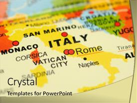 5000 italy map powerpoint templates w italy map themed backgrounds beautiful ppt theme featuring rome italy on map backdrop and a colored foreground toneelgroepblik Choice Image