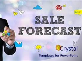 top sales forecast powerpoint templates backgrounds slides and ppt
