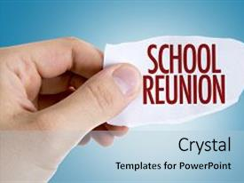 50 high school reunion powerpoint templates w high school reunion amazing presentation design having school reunion backdrop and a light blue colored foreground toneelgroepblik Gallery
