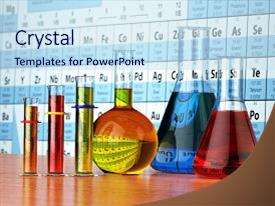 5000 material science powerpoint templates w material science presentation design having science chemistry concept laboratory test background and a sky blue colored foreground toneelgroepblik Images