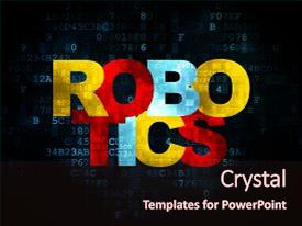 The Most Popular Robot PowerPoint Templates, Backgrounds