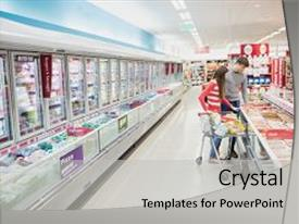 5000 grocery powerpoint templates w grocery themed backgrounds presentation design enhanced with serious couple doing grocery shopping background and a light gray colored foreground toneelgroepblik Gallery