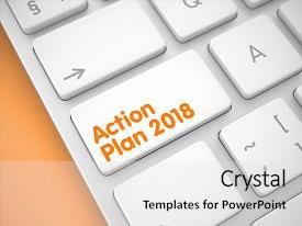 Theme consisting of service concept action plan 2018 background and a light gray colored foreground.