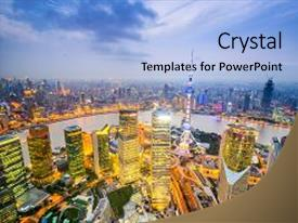300 twilight zone powerpoint templates w twilight zone themed amazing presentation design having twilight zone shanghai china city skyline backdrop and a light blue toneelgroepblik Image collections