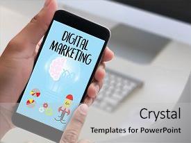5000 digital marketing powerpoint templates w digital marketing slide set consisting of share market digital marketing new background and a light gray colored toneelgroepblik Images