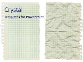 5000 notebook paper powerpoint templates w notebook paper themed