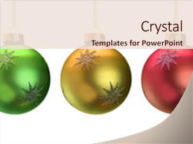 Theme having shiny christmas ornaments isolated background and a lemonade colored foreground.