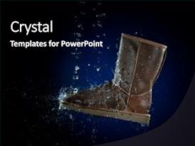 Top Shoes PowerPoint Templates, Backgrounds, Slides and PPT Themes