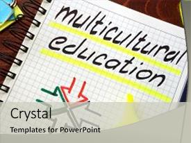 3000 multicultural education powerpoint templates w multicultural cool new ppt layouts with sign multicultural education written backdrop and a light gray colored foreground toneelgroepblik Choice Image