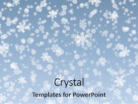 Powerpoint template snowflakes on a dark blue background with colorful slides enhanced with snow flakes high resolution rendering winter background backdrop and a light custom template toneelgroepblik Gallery