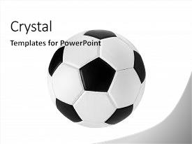 5000 soccer powerpoint templates w soccer themed backgrounds slide deck having soccer ball closeup image soccer background and a white colored foreground toneelgroepblik Image collections