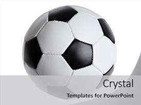 5000 soccer ball powerpoint templates w soccer ball themed backgrounds slides having soccer ball background and a light gray colored foreground toneelgroepblik Image collections