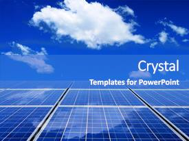 5000 solar energy powerpoint templates w solar energy themed cool new slide set with solar energy panel with blue backdrop and a cobalt blue colored toneelgroepblik Image collections