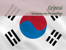 Top korean flag powerpoint templates backgrounds slides and ppt slide set with south korean waving flag can background and a soft green colored foreground toneelgroepblik Image collections