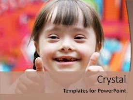 5000 giving powerpoint templates w giving themed backgrounds slide set consisting of special education portrait of beautiful happy girl background and a coral toneelgroepblik Image collections